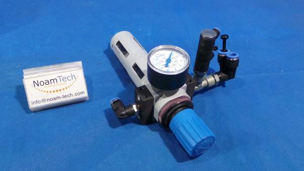 LFR-D-MiMi Valve, LFR-D-MiMi  Filter Control / 159630 ND43 / With Pressure Gauge 345 395 N7 / FESTO