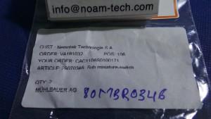 DB2 Switch, Sub Miniature