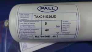 "TAX011G26JD Filter Housing, Type: 10"" PP/EPDM 10"""