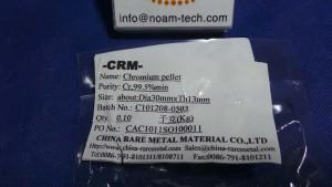 CAC1011SO100011 Chromium Pellet / Cr,99.5%min / 30mmxTh13mm
