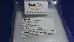 XXX-XXX-XXX Silicon Dioxide Pieces / SiO22,99.99%min / Size 1-3mm