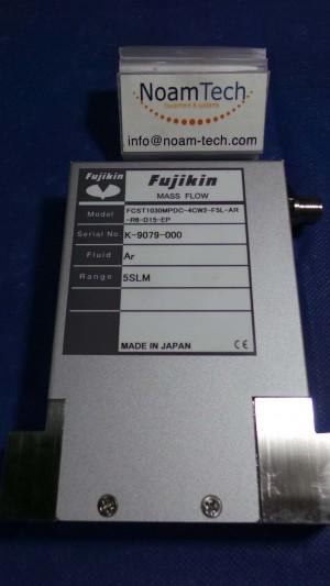 FCST1030MPDC-4CW2-F5L-AR-R6-D15-EP MFC, Gas Ar / Range 5 SLM / T1000MD / Fujikin