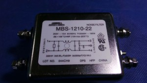 MBS-1210-22 Filter, Noise Filter