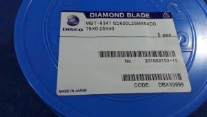 SD600L25MX64DD Blade, Diamond Blade, 79x0.25x40 / Disco