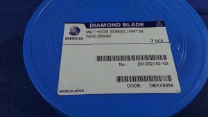 SD600L10MT38 Diamond Blade, 79x0.25x40 / Disco
