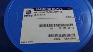 SD800L10MT38 Diamond Blade, 79x0.25x40 / Disco