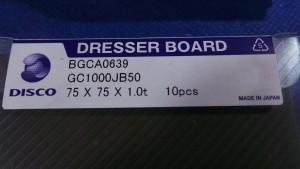 BGCA0639 Blade, Dressing Board 75x75x1.0t