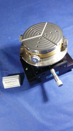 """112-3402-01 Chuck, Universal Chuck /1"""" to 8"""" Wafer Size /Vacuum/ Taylor Hobson"""