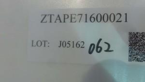 ZTAPE71600021 16mm x 56250P