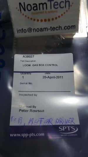 A38027 Cable, LOOM Gas Boc Control