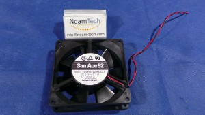 109P0912H4021 Fan, San Ace 92 / DC12v~0.45A / Sanyo Denki