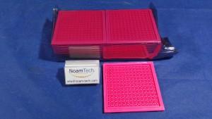 S502WLC Tray, S502 WLC / PINK / 3.84x3.48 / 12x13