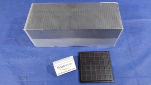 H44-433-39-66C02 Tray, CHIP Square Pockets / ChipSentry / Entegris (New Original Sealed)