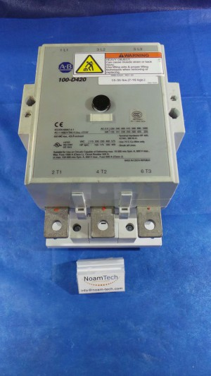 100-D420 Contactor, AB 100-D420 / 12Kv 1000v / With 100D / and Base / 420Ei /