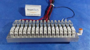 VQZ115-5L01-CP Valve, Solenoid / Manifold Module With Block and 16 Units of VV3QZ15-16-DAN00365