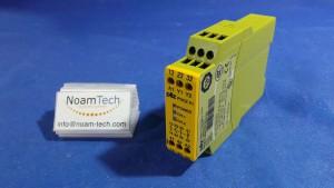 PNOZX1 Relay, Safety / 24vac / DC 3n / 50~60Hz  / PNOZX124VAC/DC3n/o1n/c / Pilz