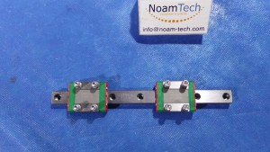 MGNR12H Linear Guide With 2 MGN12CH / 101RR-20 / 0J818-60 / 160mm / Hiwin