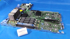 CN-0CU542-13740 Board, CN-0CU542-13740 /  Rev A02 / PowerEdge 2950 / Motherboard / With 4 ( 1GB 2Rx8 PC2-5300F-555-11 ) and 1 ( CN-0Mh180-13740 ) / DELL