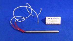 """ETE-0030 Cartridge Heater, ETE-0030 / 3/8""""x120mm / 240V /60W / Wires 0.5m"""
