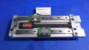 MGN12CH03191-3 Linear,MGN12CH / With 2 Bearing Guide Rail, With Motor Mount and Frame With Brackets  / 17.6 cm Long / 60mm Width