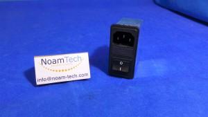 FN286-4-06 Filter / Switch, FN286-4-06 / Fuse / 110~250V / 50~60Hz / Schaffner