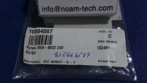 RE6-0022 Relais 24v AC/DC