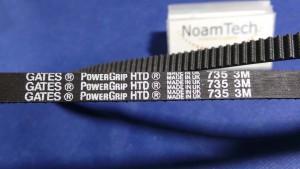2074179DS Belt, HTD735