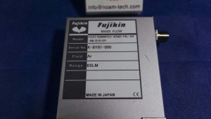 FCST1030MPDC-4CW2-F6L-AR-R6-D15-EP MFC, Gas Ar / Range 6 SLM / T1000MD / Fujikin