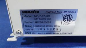 AIC-7-12-UC Controller, Tempeature Controller