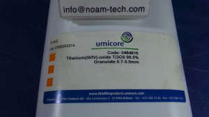 Ti305 Titanium (III/IV)-oxide 99.5% 5Kg Granulate 0.7~5.0mm / 0484816
