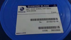 SD600L10MT38DD Diamond Blade, 79x0.25x40 / Disco