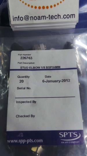 226763 STUD Elbow 1/8 BSPX4MM