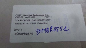 LFMA-D-MINIB443 Filter,Regulator LFR / Line / FESTO /