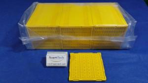 T1108005 Tray, W/LBGA 3.249x9.883 0.671T01B YELLOW  (NEW Original Factory Sealed) DW