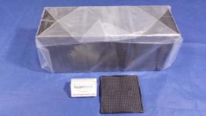 T1101035 Tray, Lens W/L ViSion 2.2x2.2 2.20T01B BLACK  (NEW Original Factory Sealed) DW