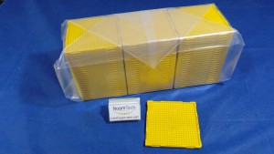 T1108004 Tray, Lens W/L ViSion 2.2x2.2 2.20T01B YELLOW  (NEW Original Factory Sealed) DW