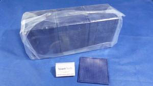 T1004003 Tray, Lens W/L ViSion 2.2x2.2 2.20T01B BLUE  (NEW Original Factory Sealed) DW