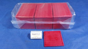 T1011026 Tray, W/LBAG 3.249x9.883 0.671T01B RED  (NEW Original Factory Sealed) DW