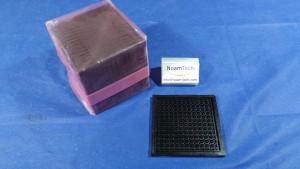 3.84X3.48X2.50 Tray, BLACK / MPPO / 3.84x3.48x2.25 / 12x13 / MSST (New Original Sealed)
