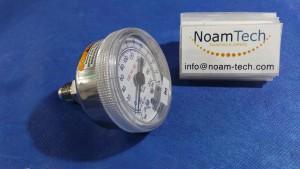 XXX-XXX-XXX Pressure Gauge, 30 Hg Vac ~200 Psi / -1Bar~14Bar / USE no OIL / USG / US Gauge