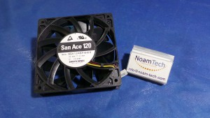 9GV1248P4H03 Fan, San Ace 120 / DC48v~0.33A / Sanyo Denki