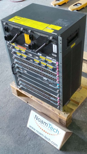 WS-C4510R-E Cisco CATALYST, WS-C4510R-E / 10 Slot Ports / With (2) WS-X4306-GB Switching Modules & (4) WS-X4548-GB-RJ4S & (1) WS-X4516 Supervisor Enginev & (2) 2800ACV Power Supply / CiSCO
