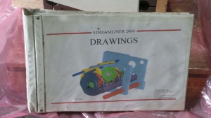 SC-00-039 Streamliner 2000 / With Drawing book / with Motor P/n MHD112B-048-PP0-AM, Permanet Magnet Motor